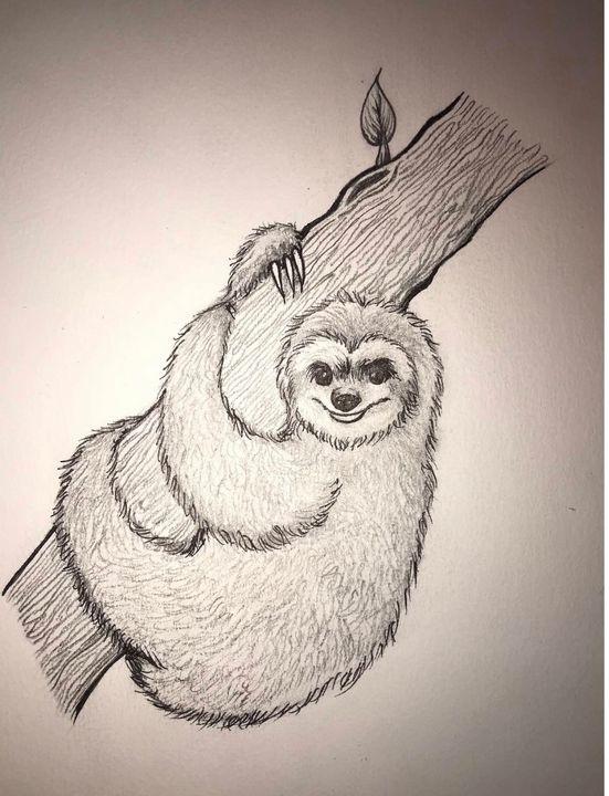 Sloth - Paatyn's Art