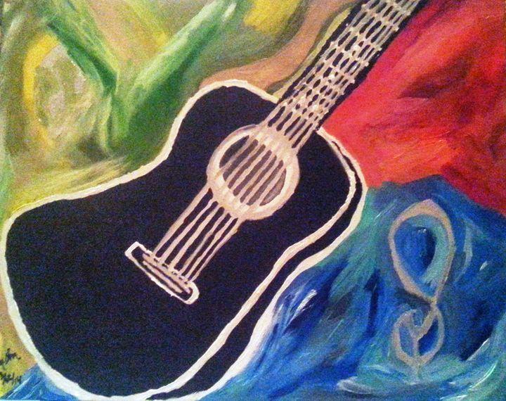 Abstract Guitar - ArtbyDanusha