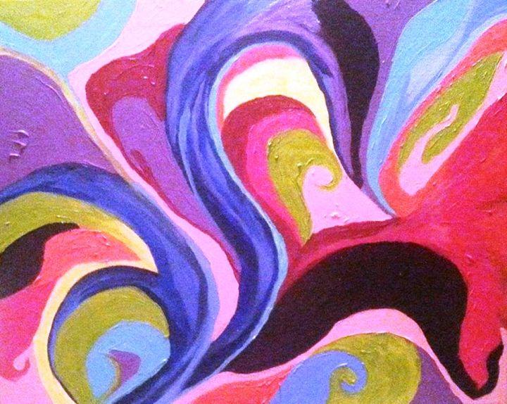 Kaleidoscope Blossom - ArtbyDanusha