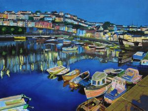 Brixham Harbour - Adrian Pictures, paintings etc