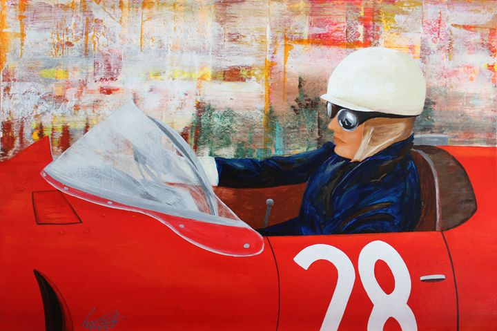 Acrylic MSC 214 - Mario Sergio Calzi