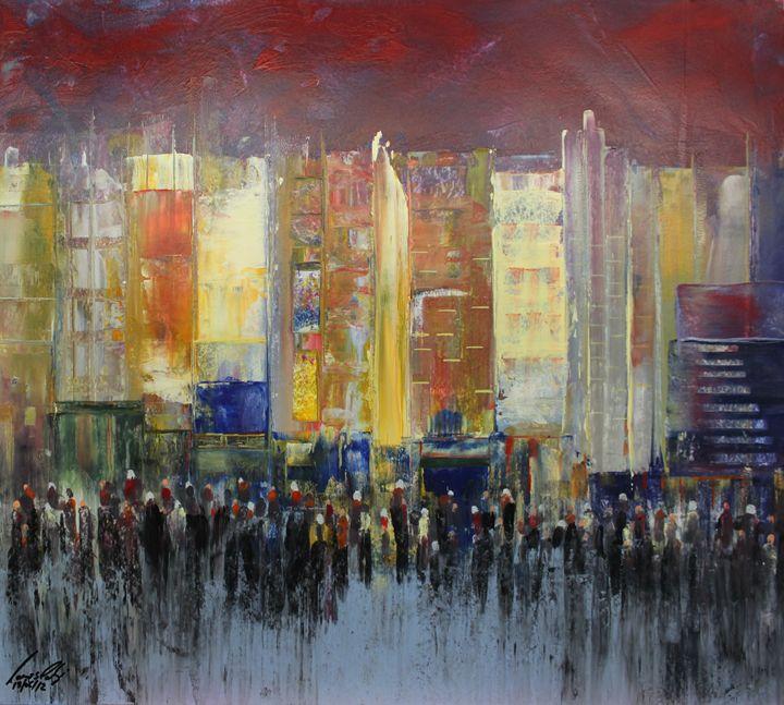 Acrylic MSC 182 - Mario Sergio Calzi
