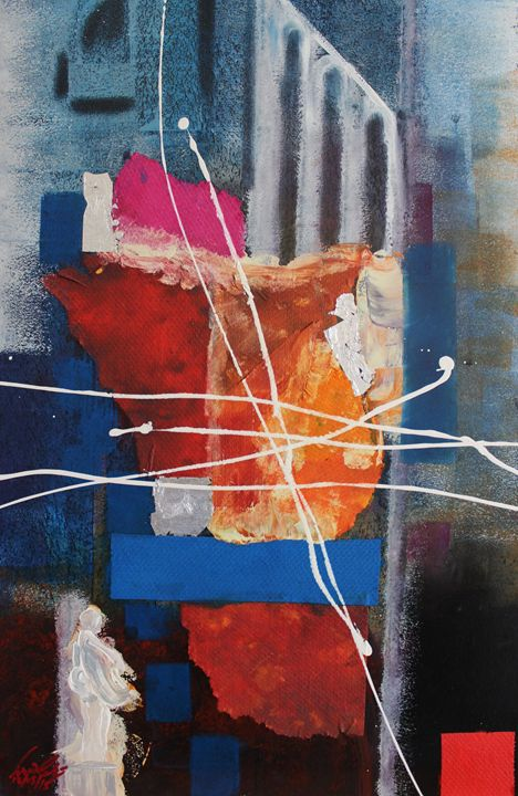 Acrylic MSC 227 - Mario Sergio Calzi