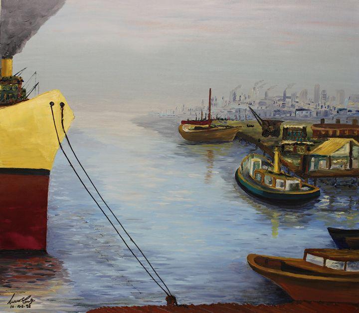 Oil MSC 026 - Mario Sergio Calzi