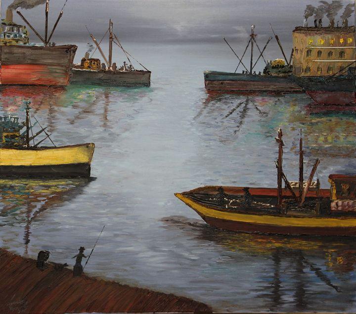 Oil MSC 024 - Mario Sergio Calzi