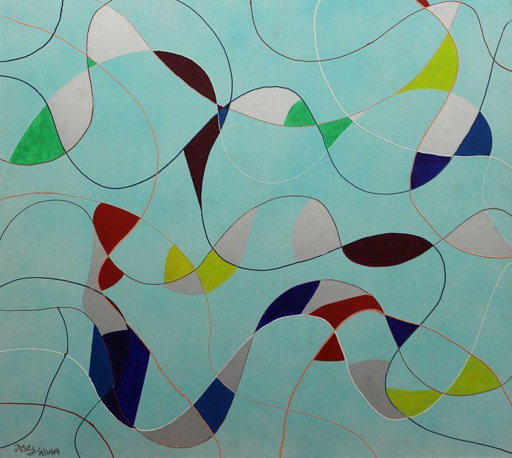 Acrylic MSC 087 - Mario Sergio Calzi