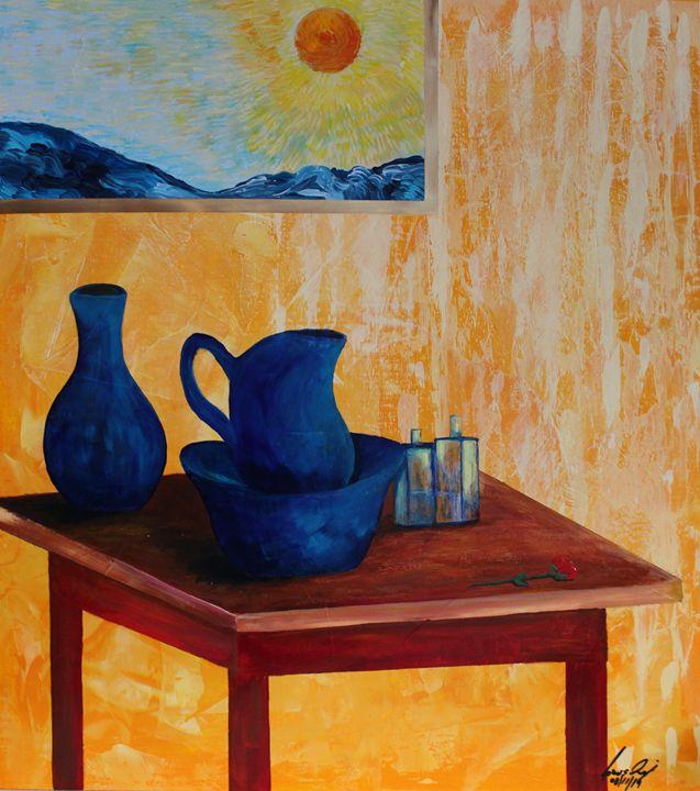 Acrylic MSC 197 - Mario Sergio Calzi