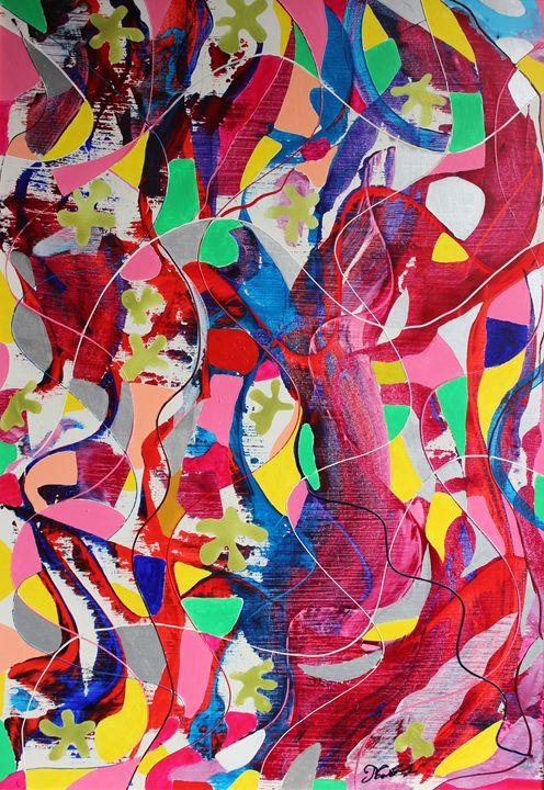 Acrylic MSC 042 - Mario Sergio Calzi