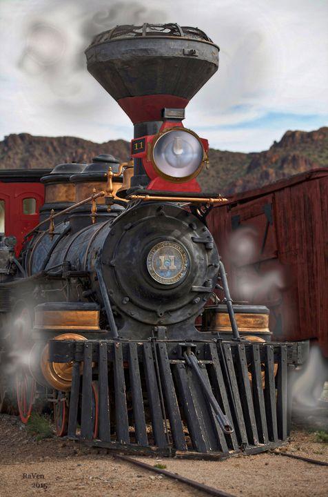"Steampunk - ""Ole' Number 11 "" - Steampunk"