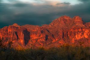 Superstition Mountains, West Face Su