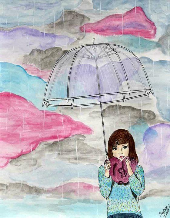 Rainy Daze - Art by Destiny Riddle