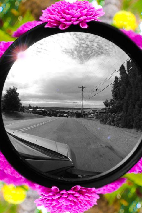 Monochromatic Car Ride - Entheogen