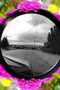 Monochromatic Car Ride