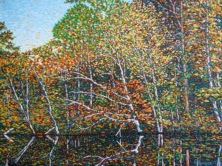 Autumn Shoreline - Michael Bloomquist