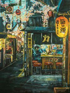 Japanese bar.