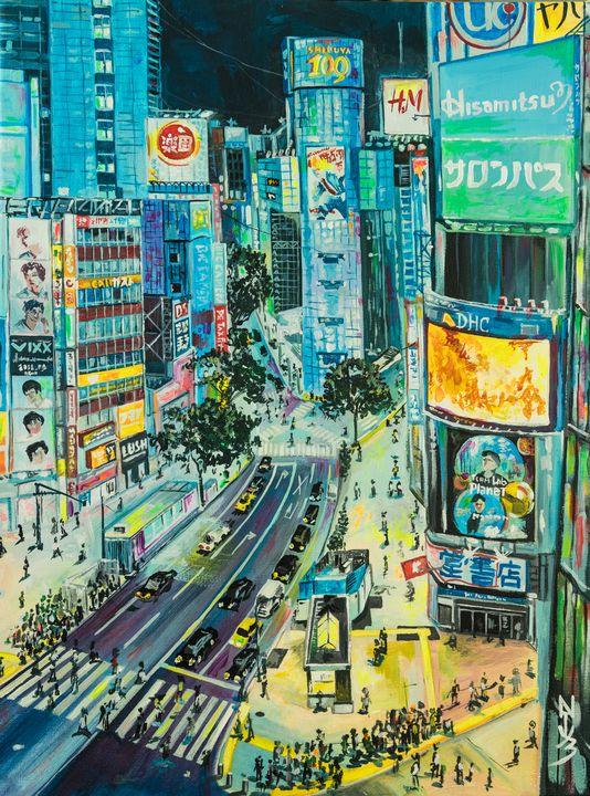 Shibuya crossing. Japan. - Natuz