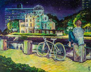 Memories of Hiroshima.Japan.
