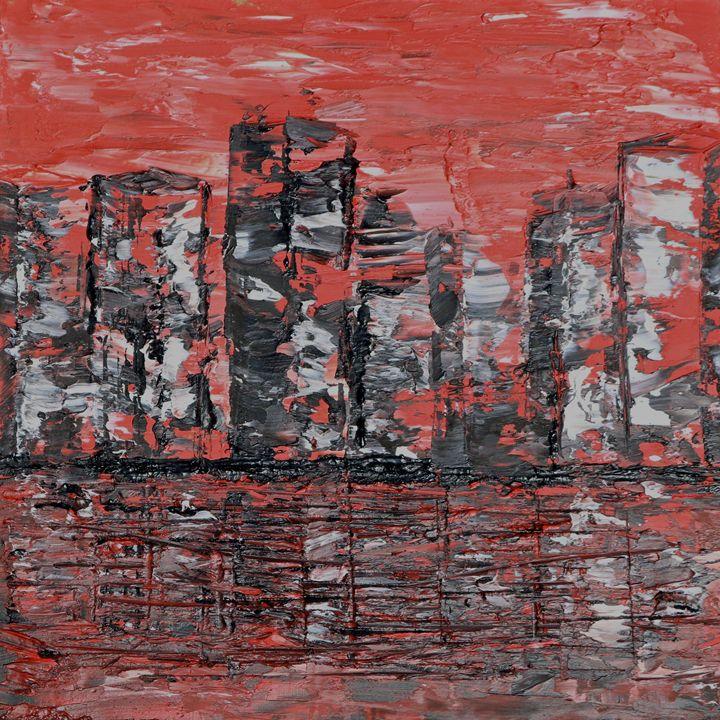 Red City Scrape - Carlile Art