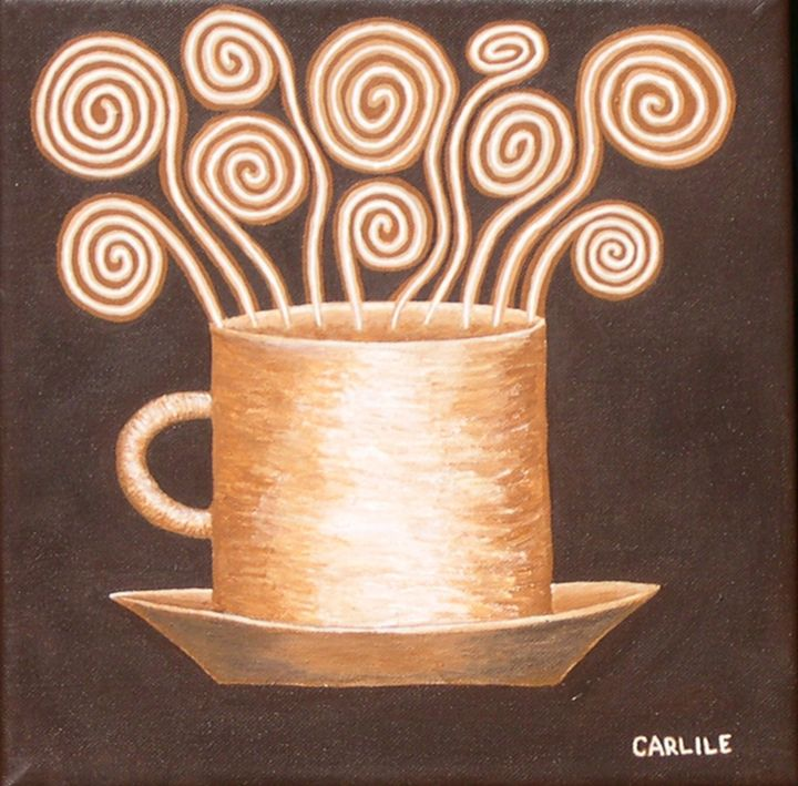 Caffeine Dreams - Carlile Art