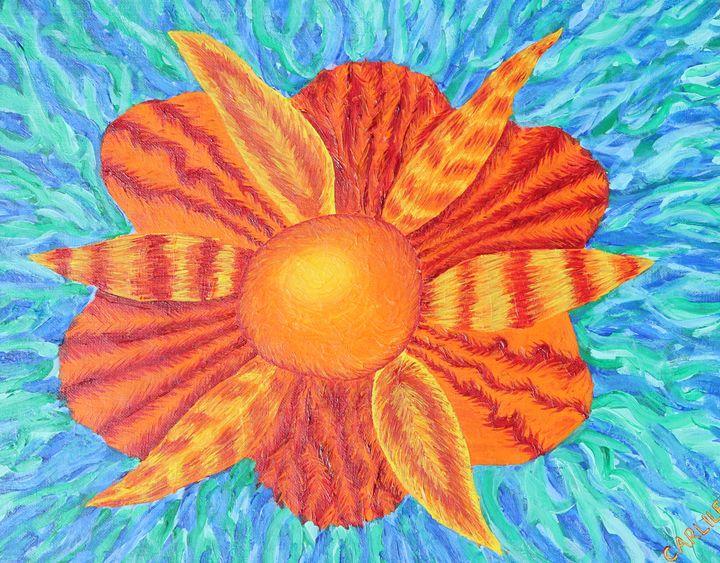 Sunflower - Carlile Art