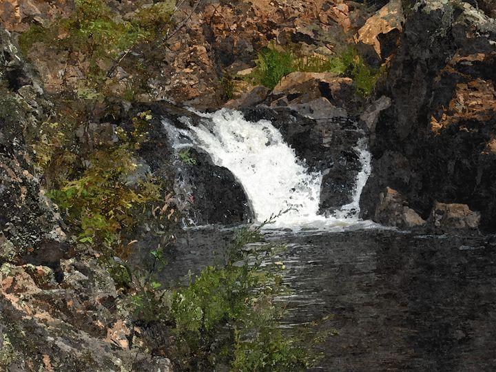 Waterfall - Donkey Designs