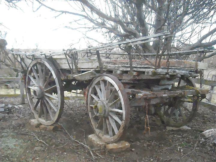 Old Wagon - Donkey Designs