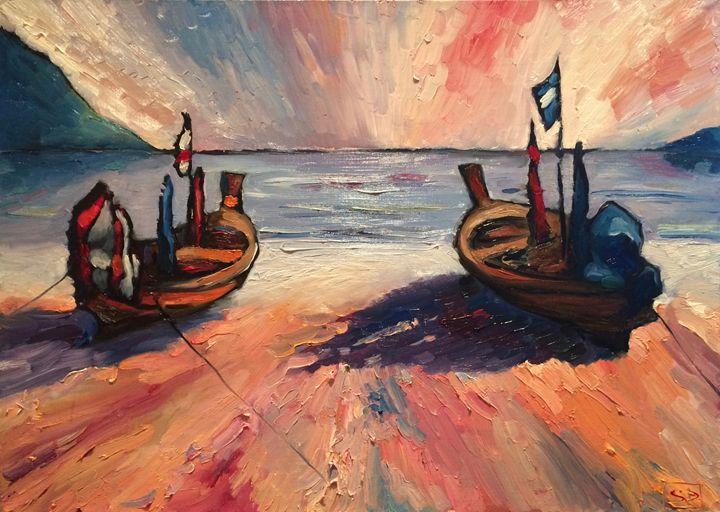 Thai Boats - Sergey Denisov