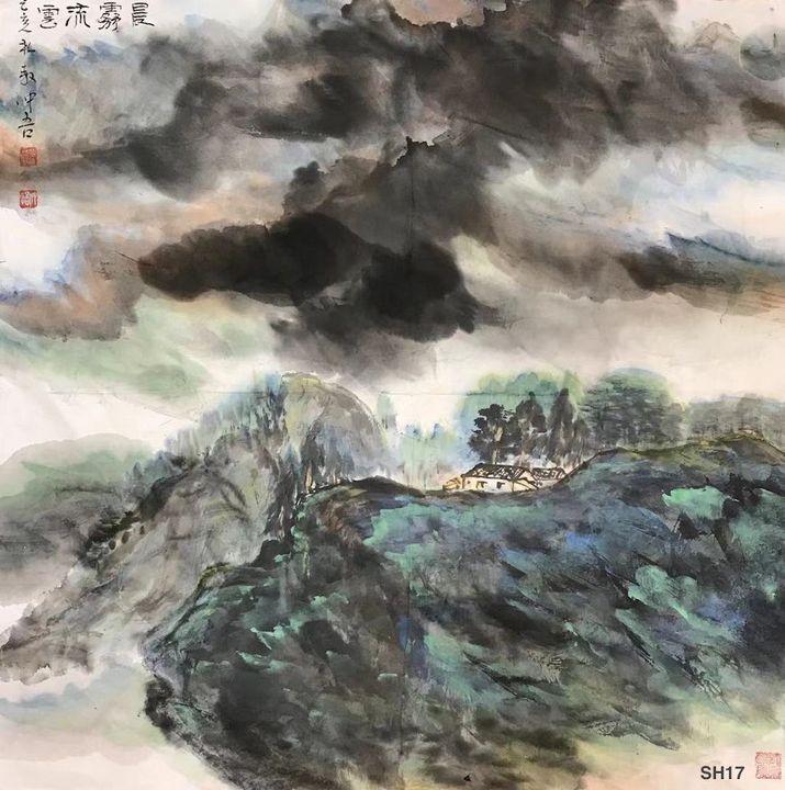 SH 17 - Morning Mist & Cloud - art_aocwartistwork