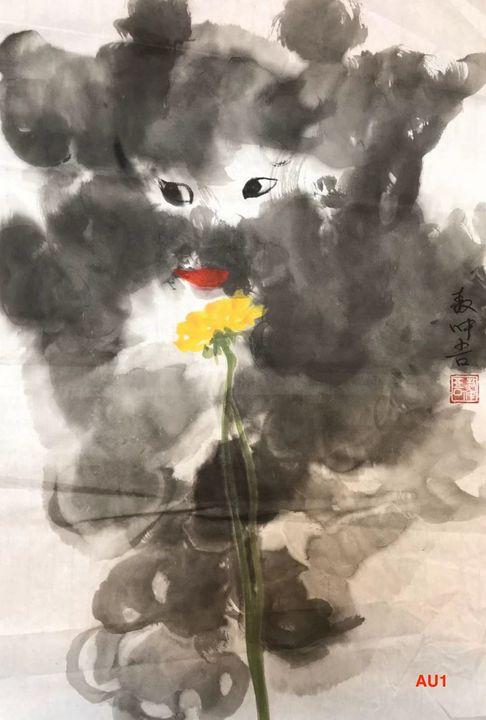 AU 1 - Yellow Rose - art_aocwartistwork