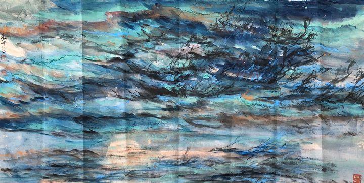 AU 20 - Blue Dance - art_aocwartistwork
