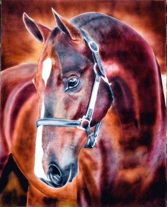 Horse Airbrush Art - Cody LeBouef