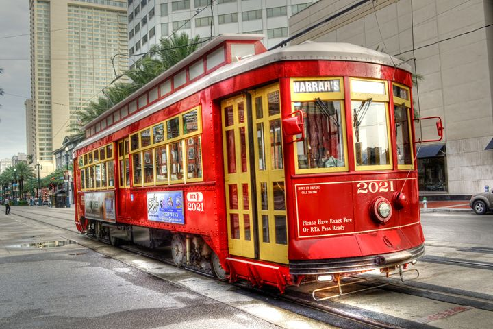 Streetcar in New Orleans - Caldwell Gallery