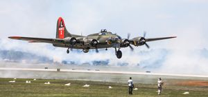 B-17 Texas Raiders Tora Tora Tora