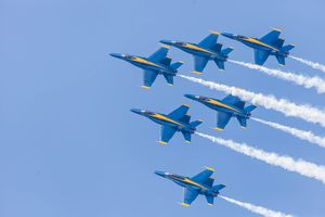 Blue Angels Formation Loop