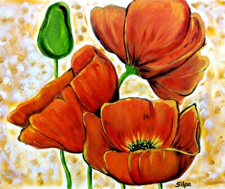 Poppy Flowers - Silpa
