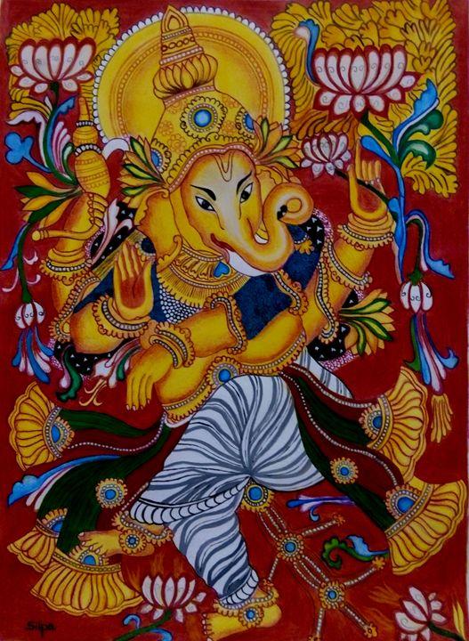 Dancing Ganapathi - Silpa