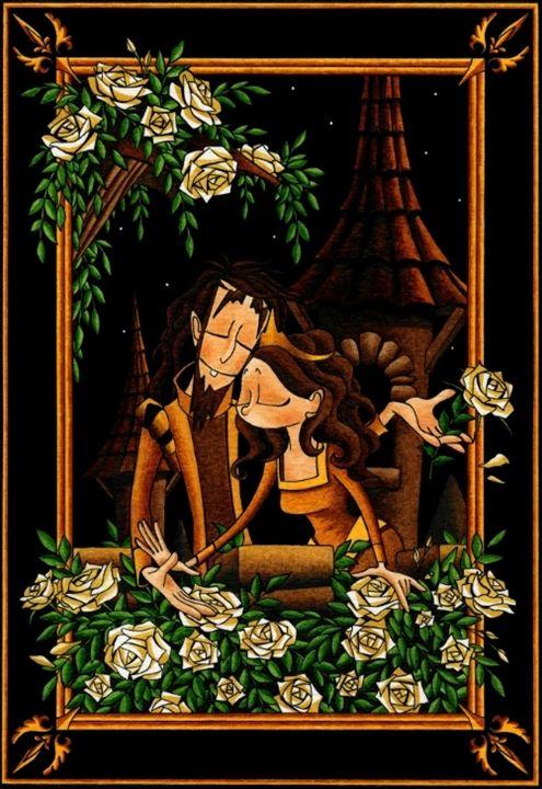 Blooming Love - Diana Mascarenhas Illustration
