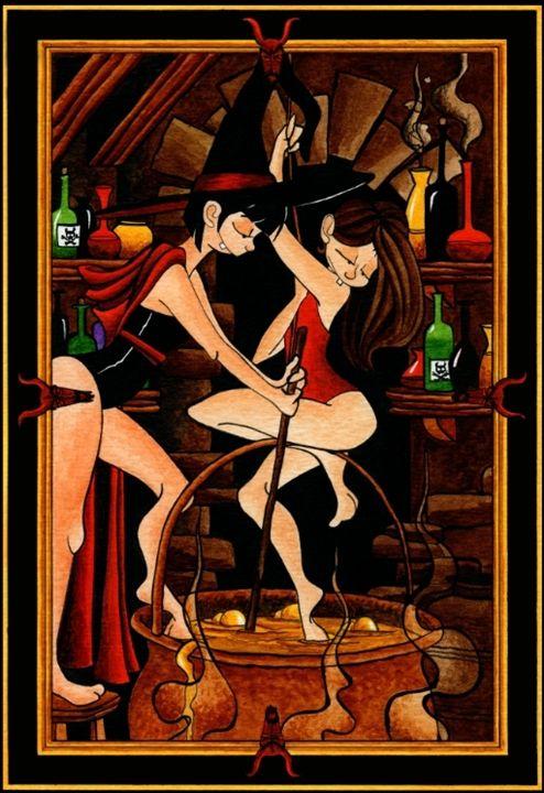 The Cauldron - Diana Mascarenhas Illustration