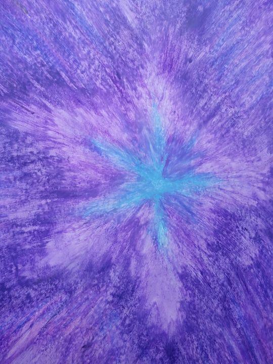 BluViolet starburst - Tammy