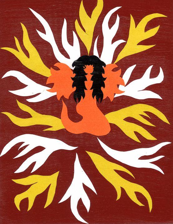 Angel of the Flames - Lavaun Heaster's Art