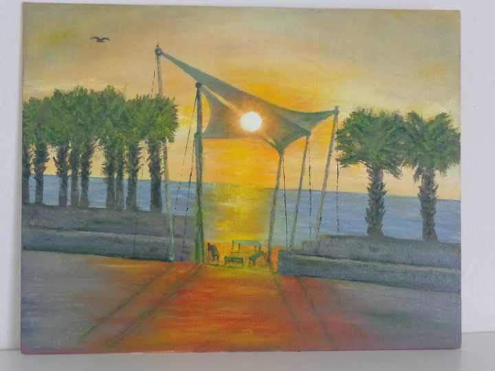 Sunrise in Galveston - Milorad Vujisic - Milo