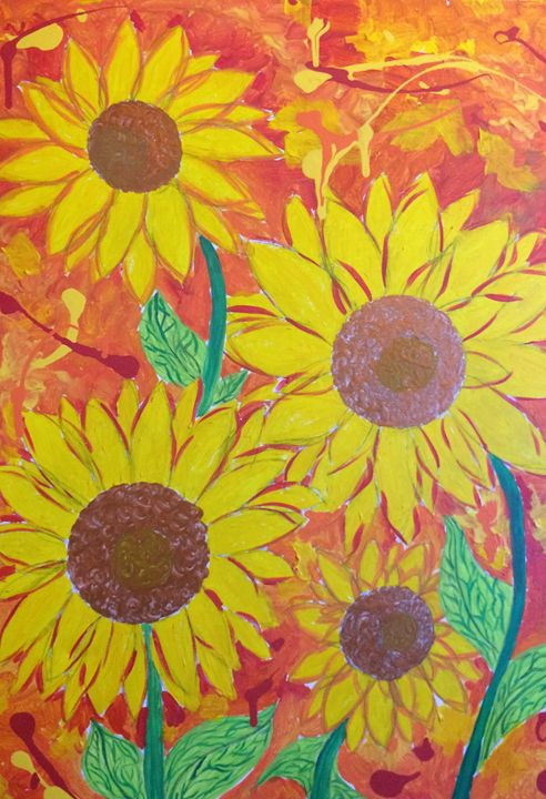 Sunflowers - Expressive Delights