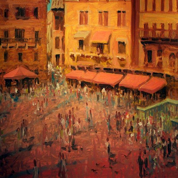 Piazza Del Campo, Siena Italy - Gordon Haas