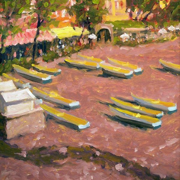 The Beach of Positano - Gordon Haas