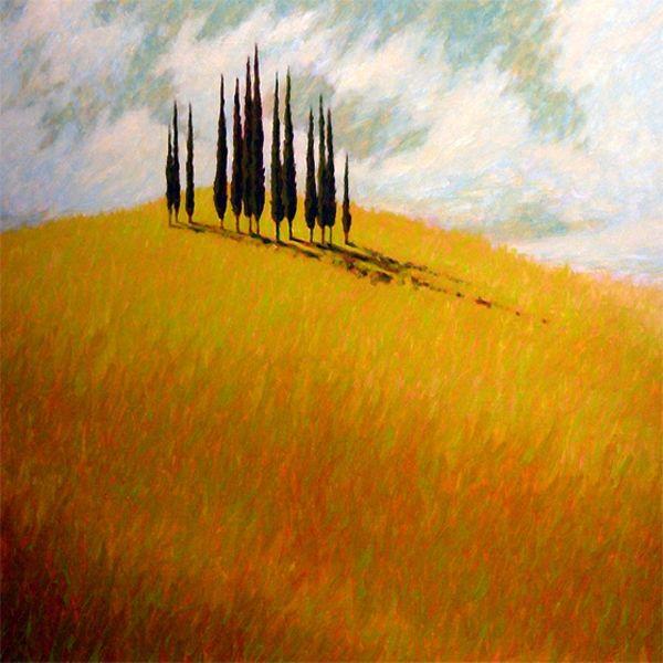 Tuscan Trees - Gordon Haas
