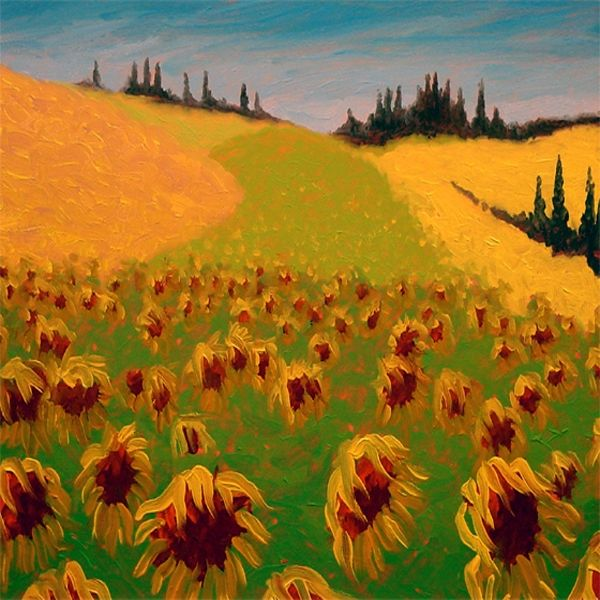 Tuscan Sunflowers - Gordon Haas