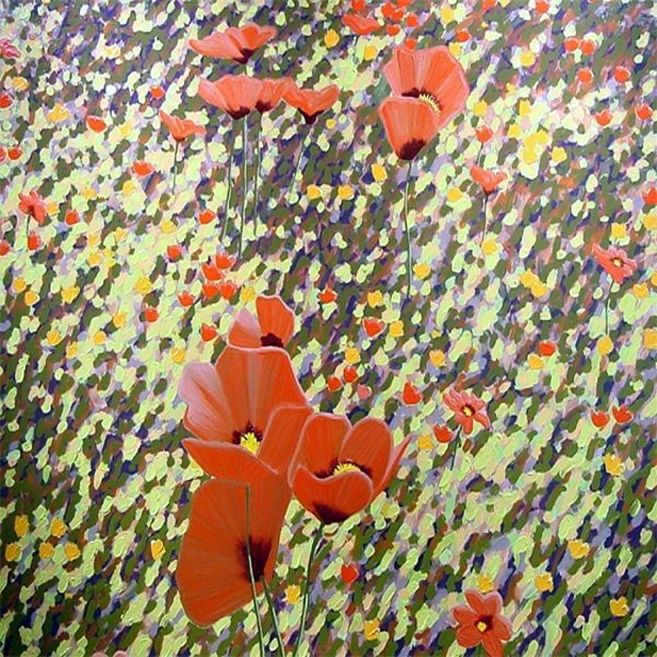 Poppies in Giverny - Gordon Haas