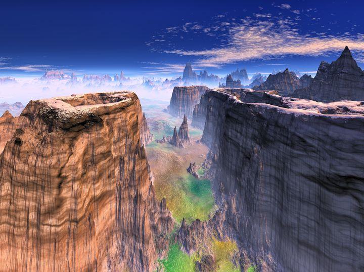 Grand Canyon Mountain - hgmielke