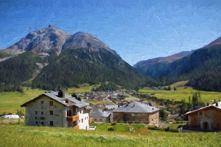 Beautiful Austrian Mountain Village - hgmielke