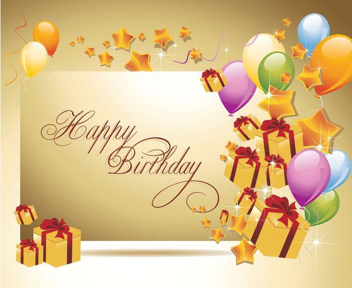 Happy birthday card for anyone - hgmielke